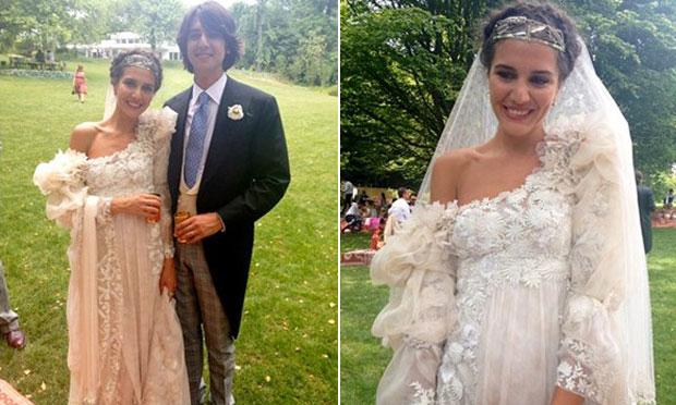 Vestido de noiva Margherita Missoni