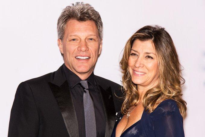 Bon Jovi e Dorothea Hurley