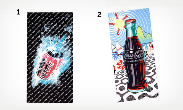 Objetos de decoração Coca-Cola