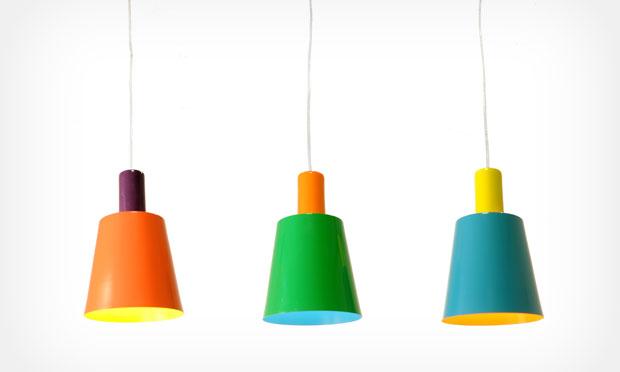 Luminára com design diferente