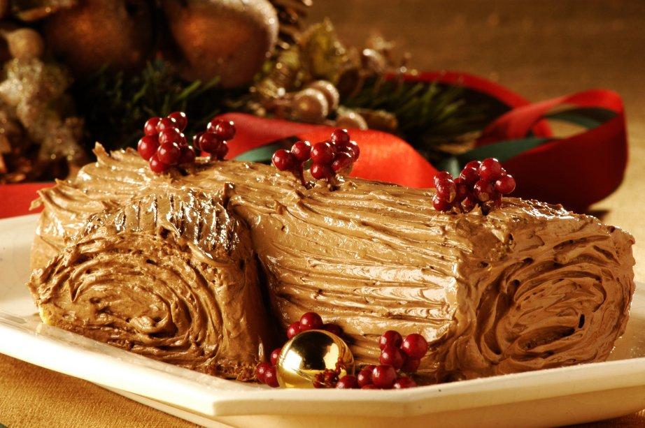 Tronco de Natal: com sabor especial de castanhas portuguesas