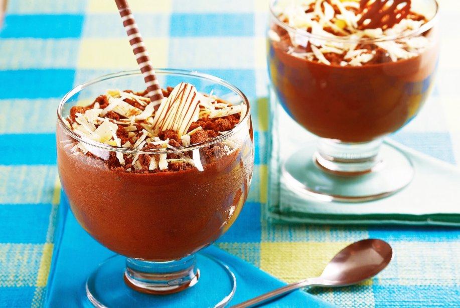 Musse de chocolate ao rum: é irresistível!