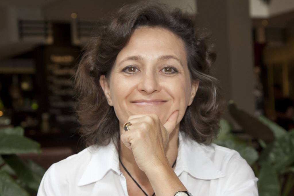 A nutricionista Sophie Deram.