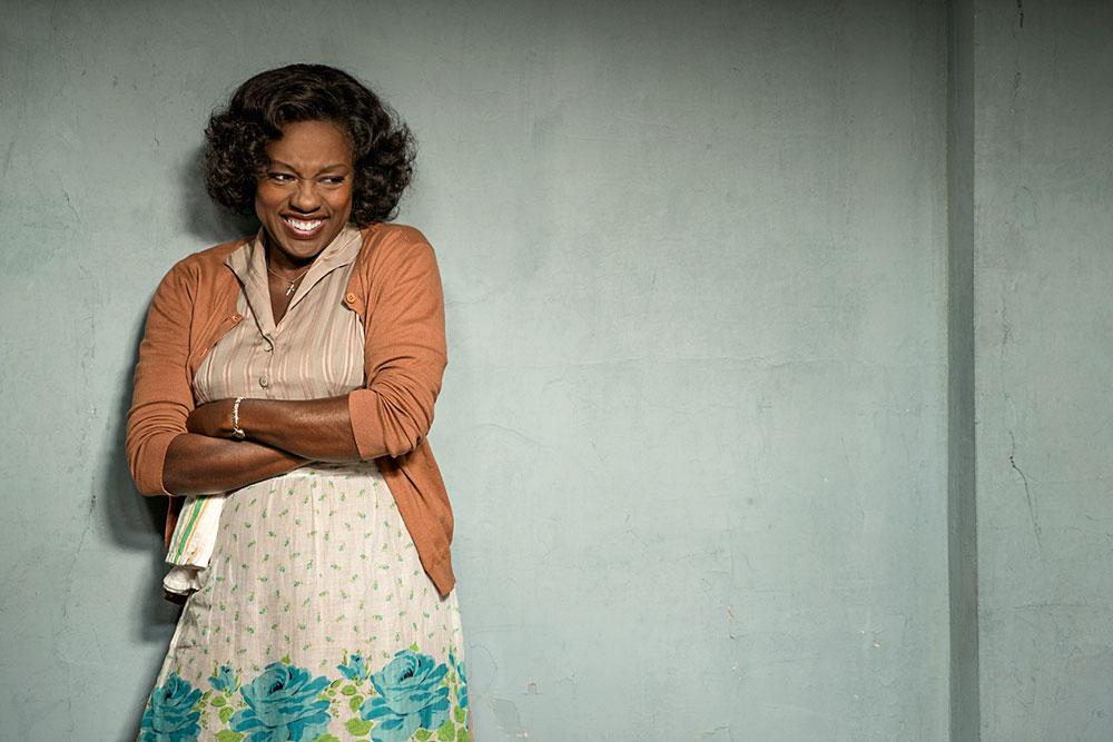 Em 'Um Limite entre Nós' Viola Davis interpreta Rose, esposa de Troy (Denzel Washington)