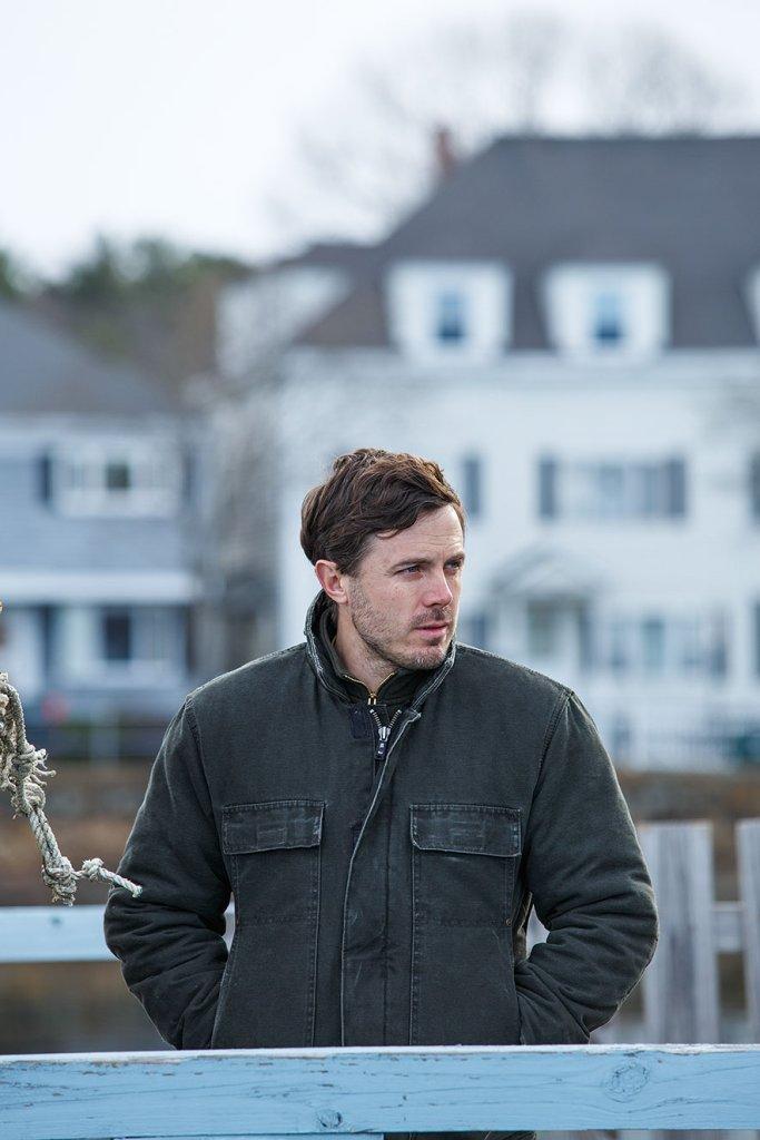 Cassey Affleck interpreta Lee Chandler em 'Manchester á Beira-mar'