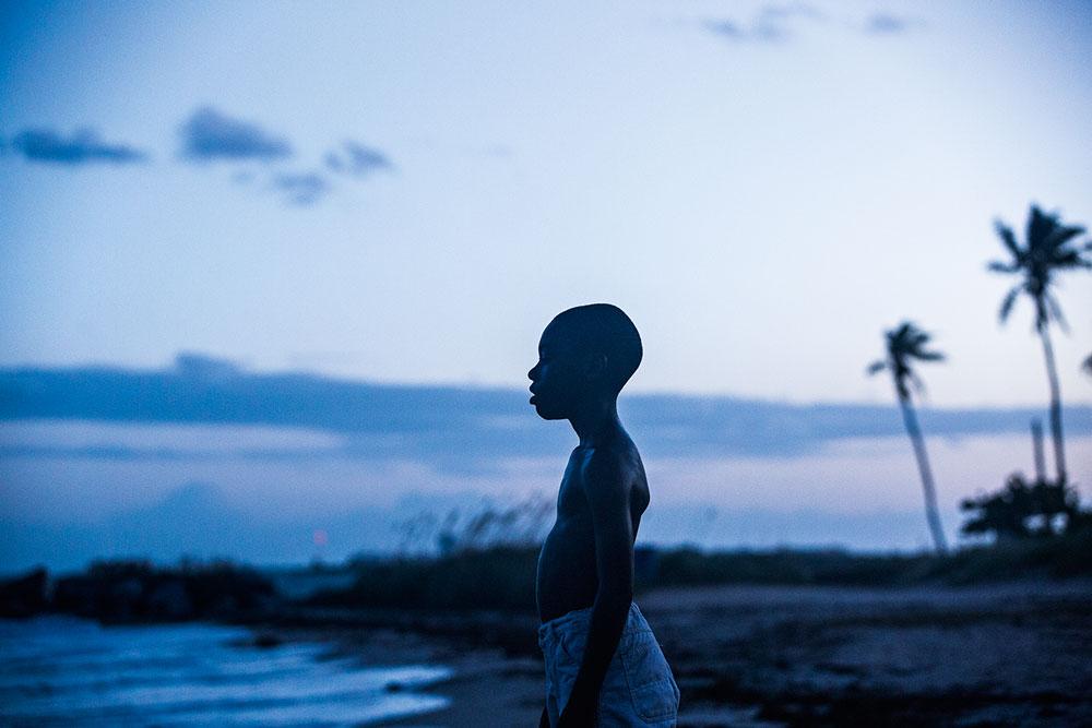 Chiron, o protagonista de 'Moonlight = Sob a Luz do Luar'