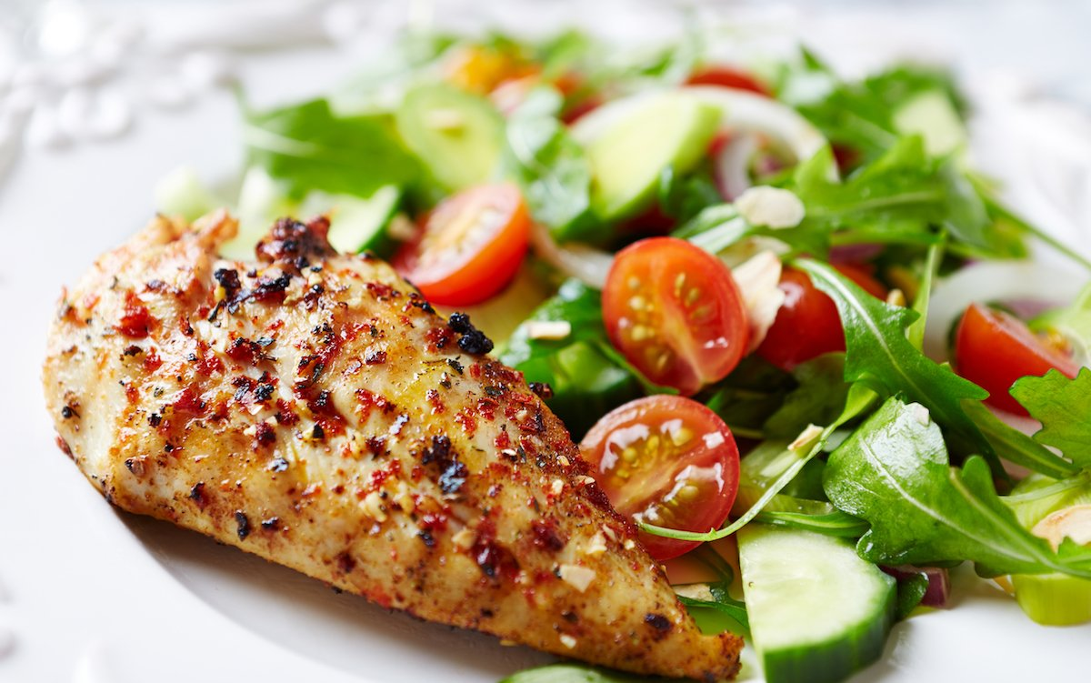 shes-also-partial-to-a-simple-grilled-chicken-with-salad