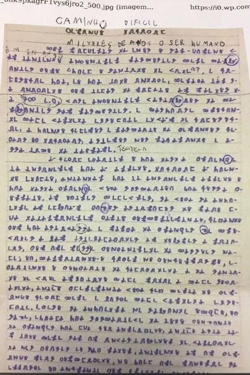 Página do livro escrita por Bruno Borges