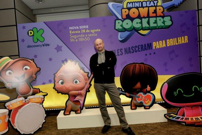 """Juan José Campanella, diretor de """"O Segredo de Seus Olhos"""" e produtor executivo de Mini Beat Power Rockers"""