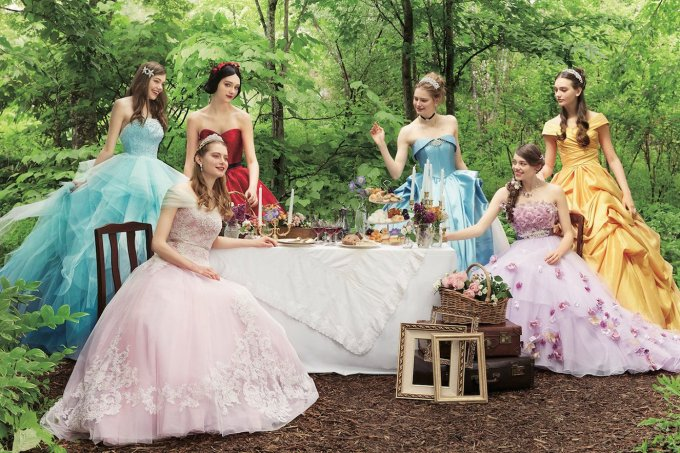 Vestidos de noiva inspirados nas princesas