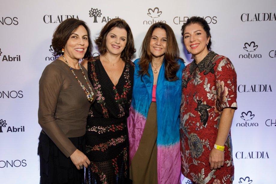 Patrícia Zaidan, Alecsandra Zapparoli, Guta Nascimento e Paula Mageste