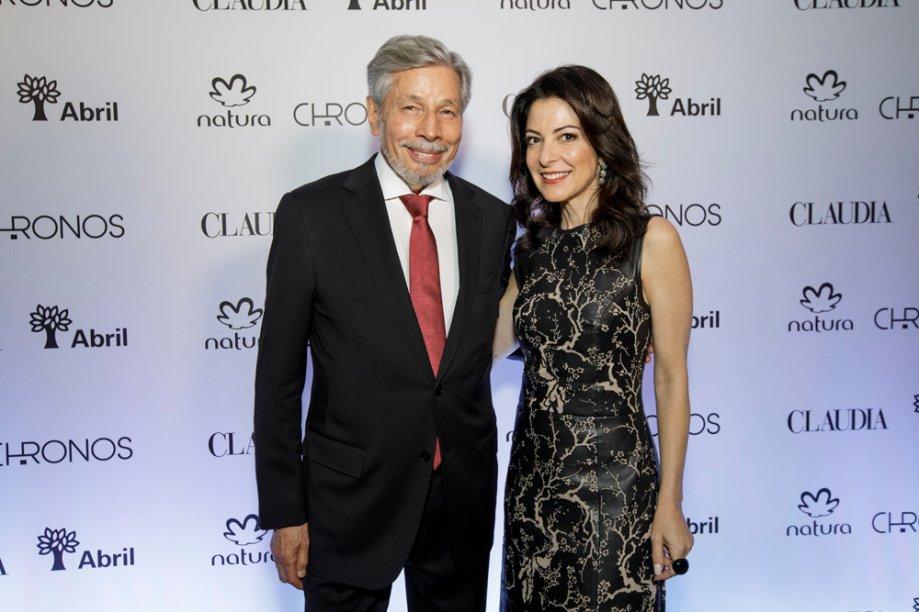 Luiz Seabra e Ana Paula Padrão