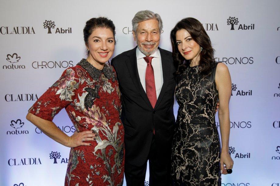 Paula Mageste, Luiz Seabra e Ana Paula Padrão