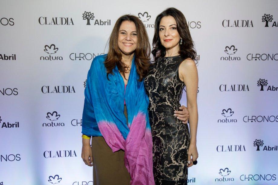 Nossas diretoras Guta Nascimento e Ana Paula Padrão