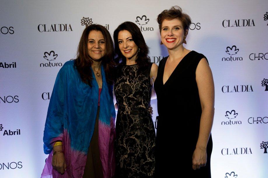 Guta Nascimento, Ana Paula Padrão e Giuliana Bergamo