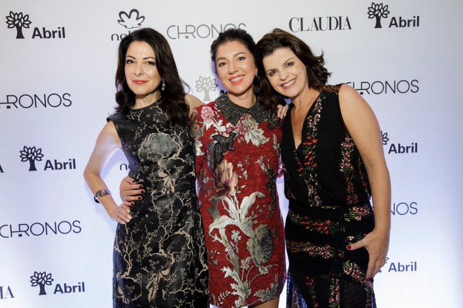 Ana Paula Padrão, Paula Mageste, Alecsandra Zapparoli
