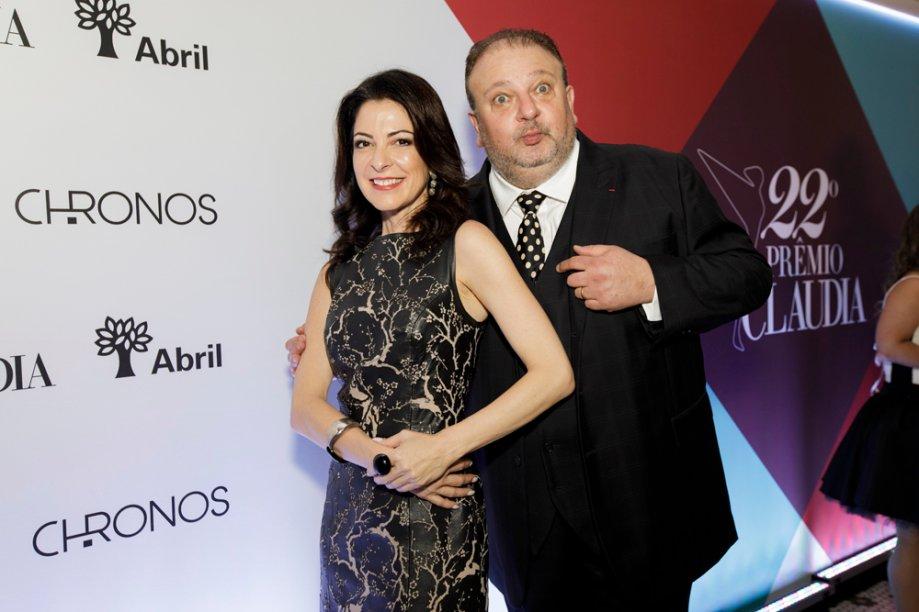Ana Paula Padrão e Eric Jacquin