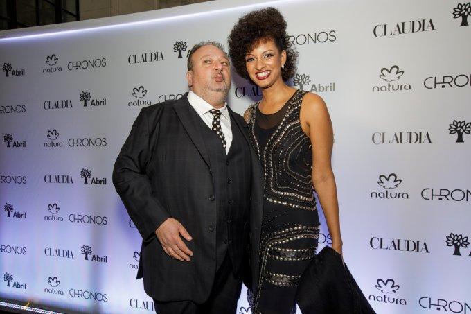 Erick Jacquin e Rosangela Menezes