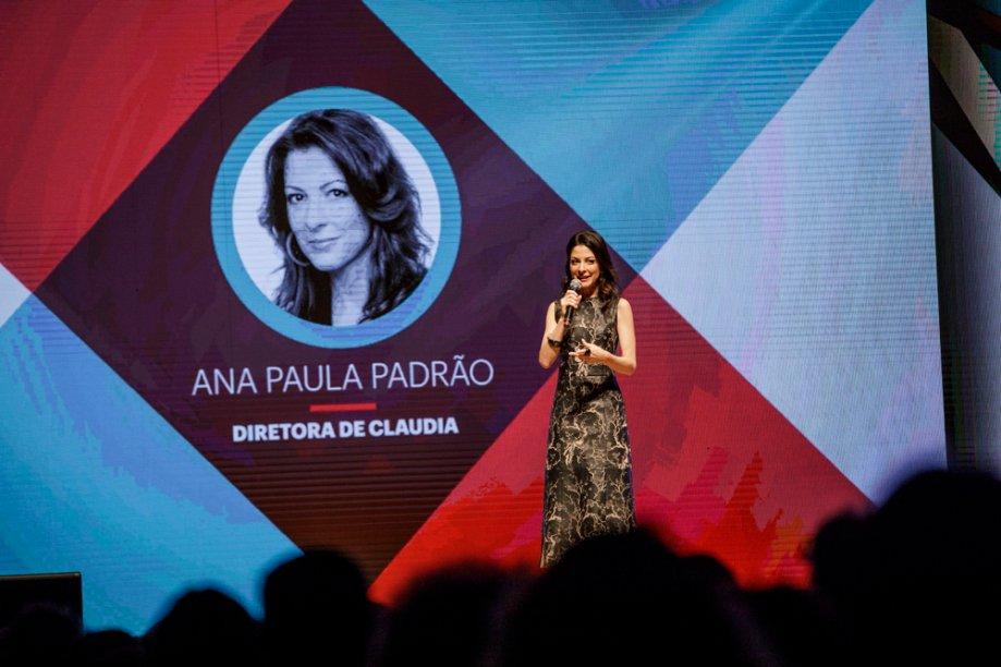 Ana Paula Padrão, Diretora de Redação de CLAUDIA, falou um pouco sobre a história e a importância do prêmio
