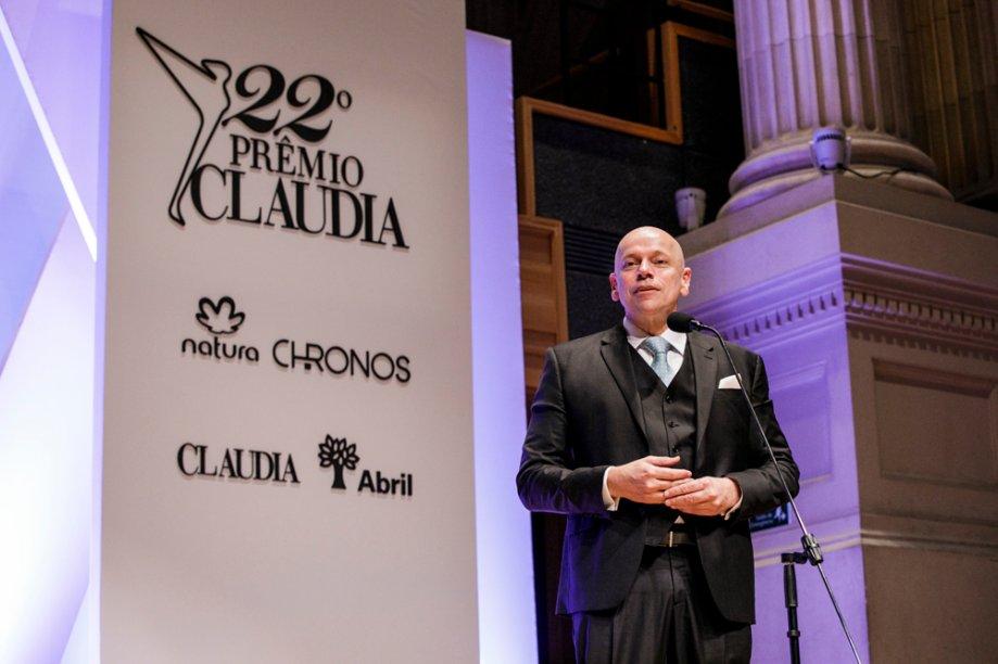O historiador Leandro Karnal apresenta a vencedora de Políticas Públicas
