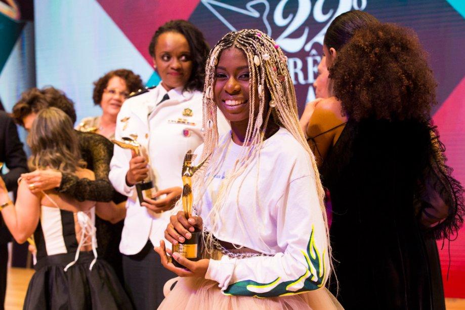 MC Soffia, a vencedora Revelação