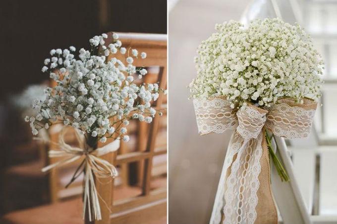 Mosquitinho em decoração de casamento