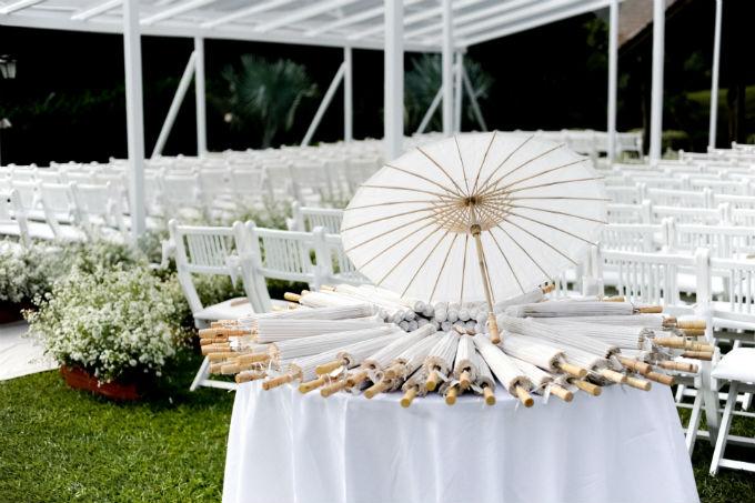 Mimos para convidados em casamentos de verão