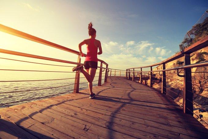 Fazer mais atividade física é uma resolução de Ano Novo muito comum