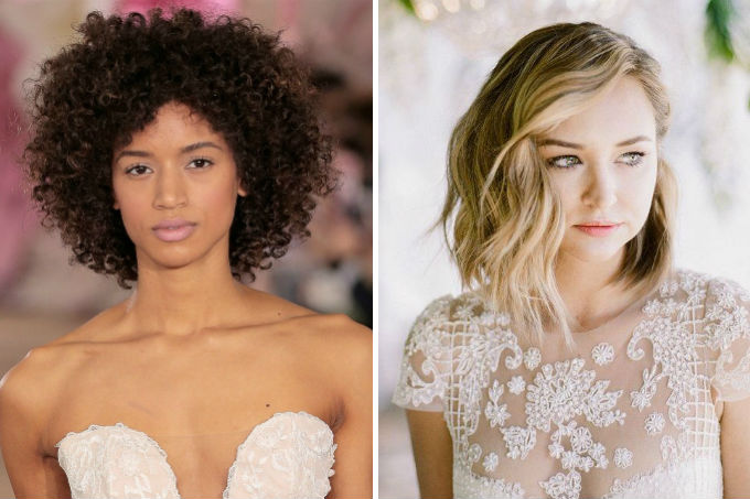 Penteados para noiva de cabelo curto