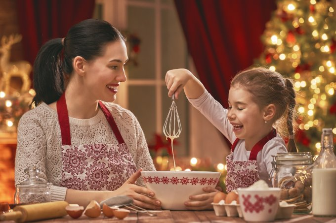 natal cozinhando