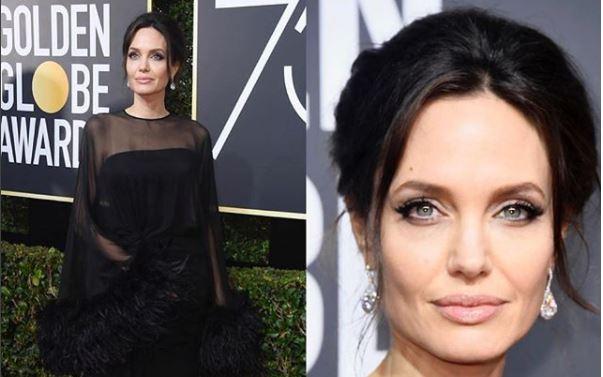 Angelina Jolie no Globo de Ouro