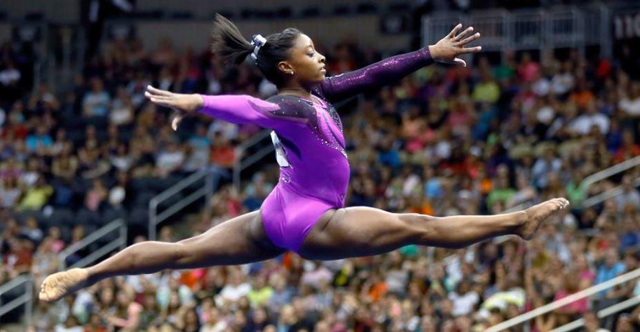 A ginasta Simone Biles