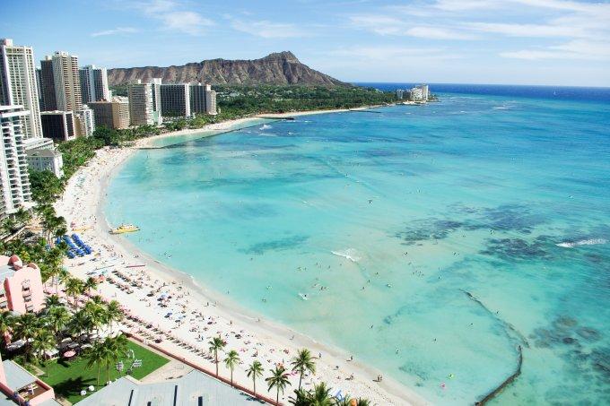 Waikiki Beach, Havaí