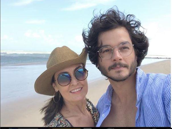 Fátima Bernardes e o namorado, Túlio Gadêlha