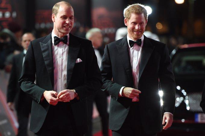 Príncipe Harry e Príncipe William