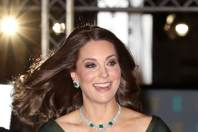Kate middleton no Bafta