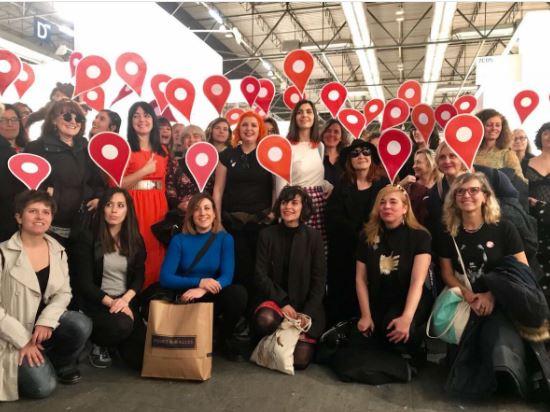Mulheres protestam em exposição na Espanha