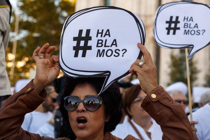 GREVE FEMINISTA NA ESPANHA