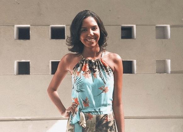 Nathalia Santos, que se formou em jornalismo