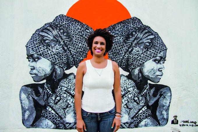 Jornal Maré de Notícias -Vereadora Marielli Franco