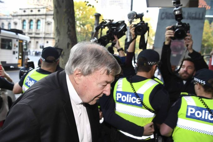 george pell vaticano acusacao abuso sexual