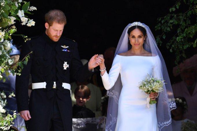 meghan markle e príncipe harry casamento real