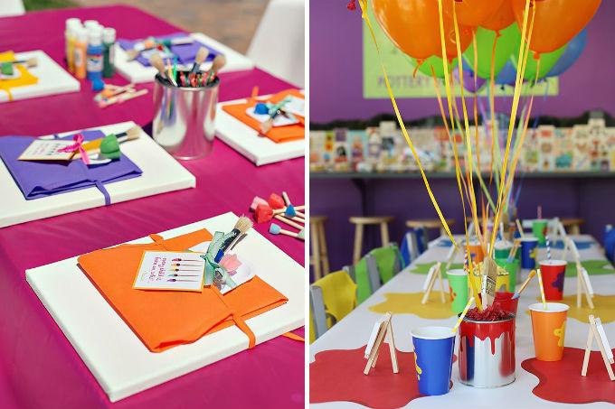 Oficinas para festas infantis