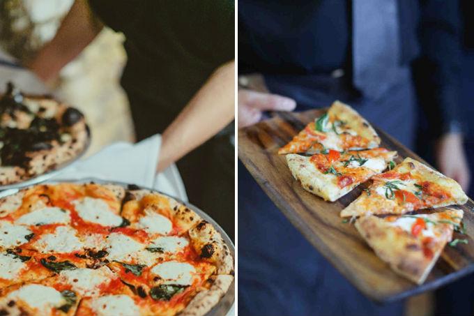 Rodízio de pizza em casamento