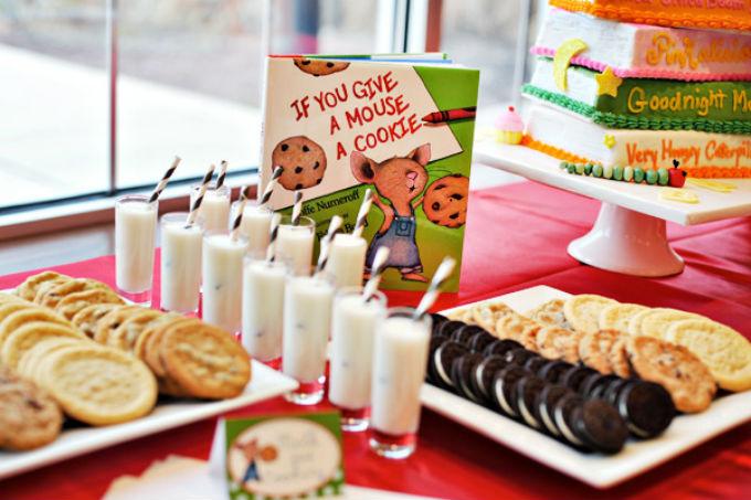 Festa infantil com tema livros