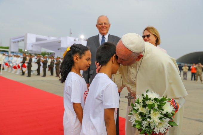 Visita do papa Francisco ao Peru. Foto Presidencia do Peru