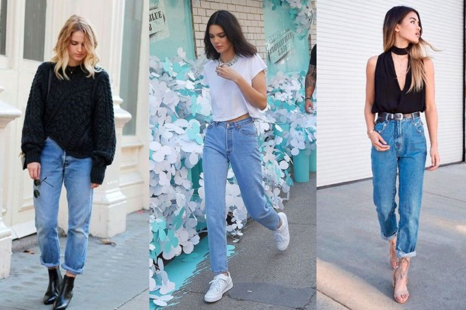4 looks jeans mom