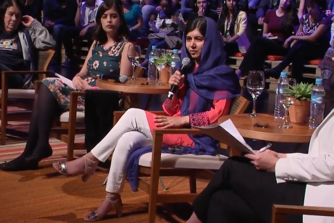 Malala no Brasil