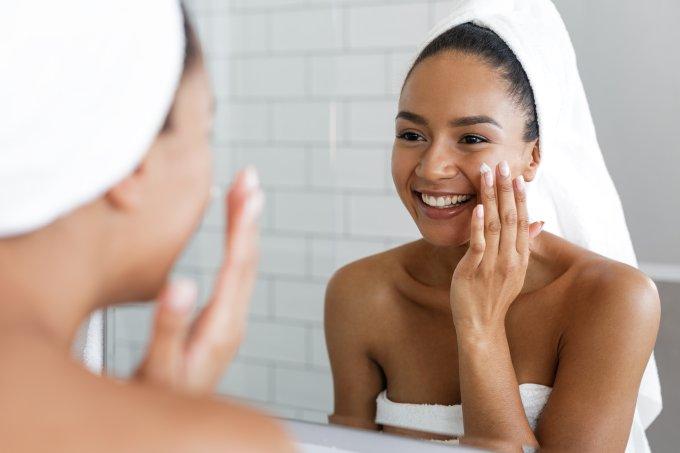 cuidados com a pele em três passos
