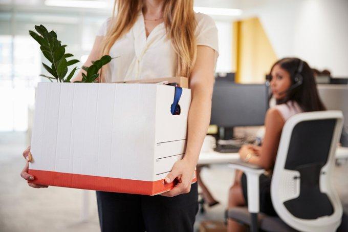 demissão—trabalho—mulher